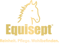 Equisept_Logo_Claim_gold+Verlauf
